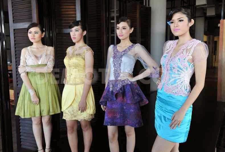 Foto Model Baju Kebaya Pendek