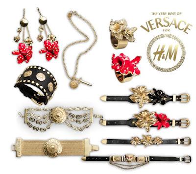 bijoux versace