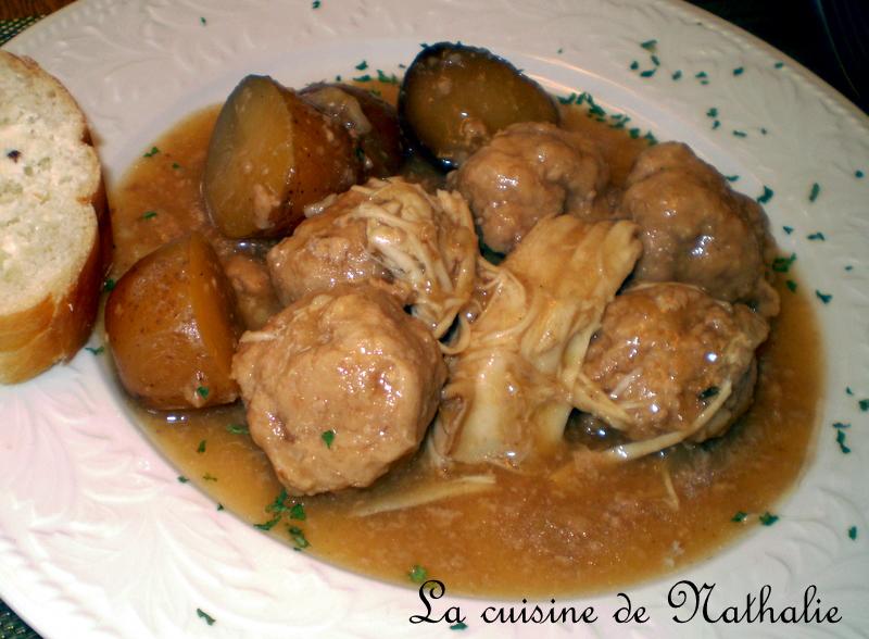 la cuisine de nathalie rago 251 t de boulettes 224 la mijoteuse