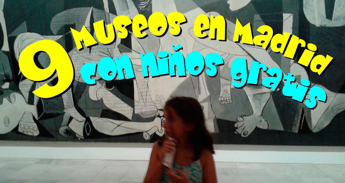 9 Museos en Madrid con niños gratis - Vigopeques