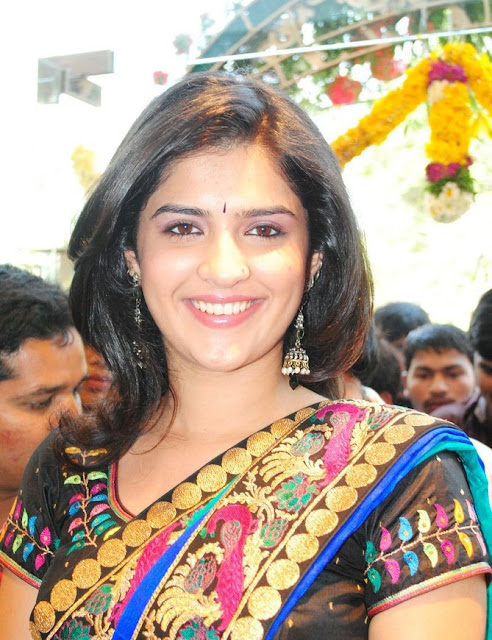 deeksha Seth Saree Photos
