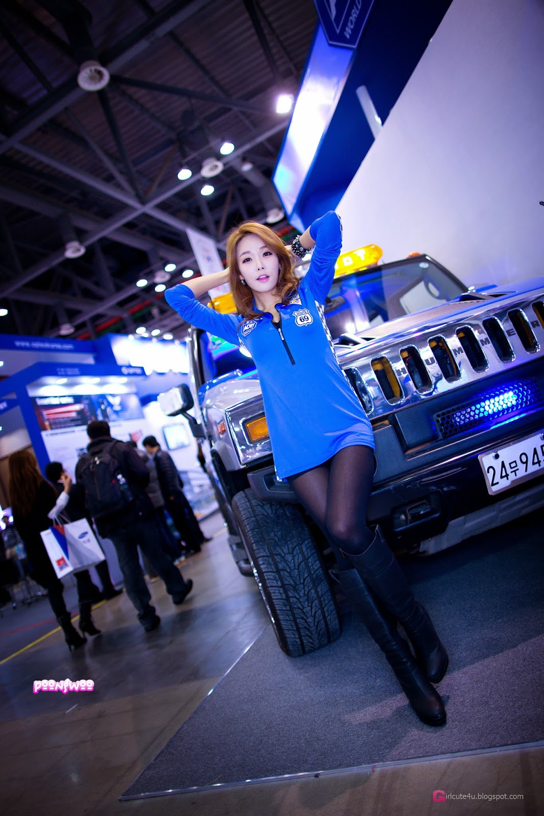 1 Lee Da Hee - World Security Expo - very cute asian girl-girlcute4u.blogspot.com
