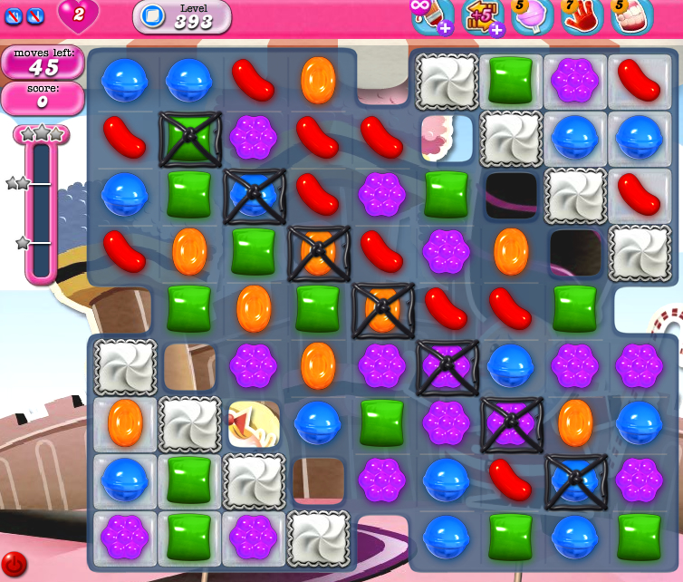 Candy Crush Saga 393