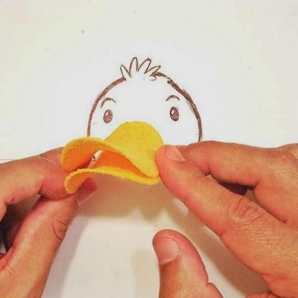 imagens criativas - desenhos - pato