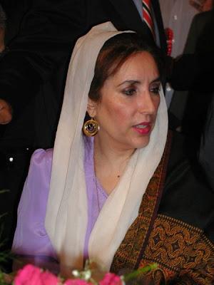 Benazir Bhutto política pakistaní