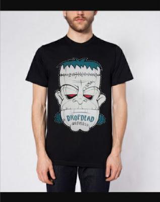T Shirt DropDead Frankenstein