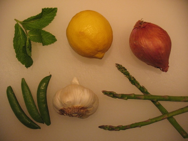 how to prepare fresh snap peas