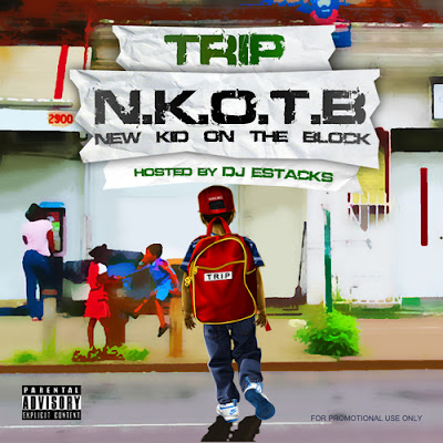 Trip New Kid On The Block - trip rappers poster album cover