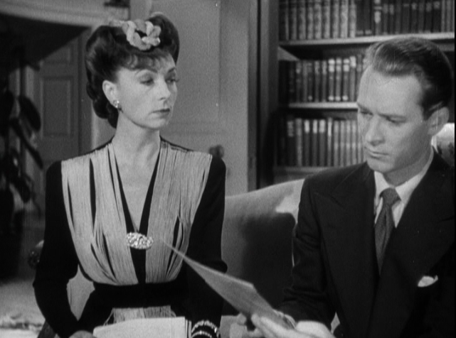 Agnes Moorehead and Jess Barker in Government Girl (1943)