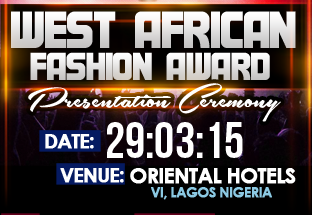 West African Fashion Award 2015