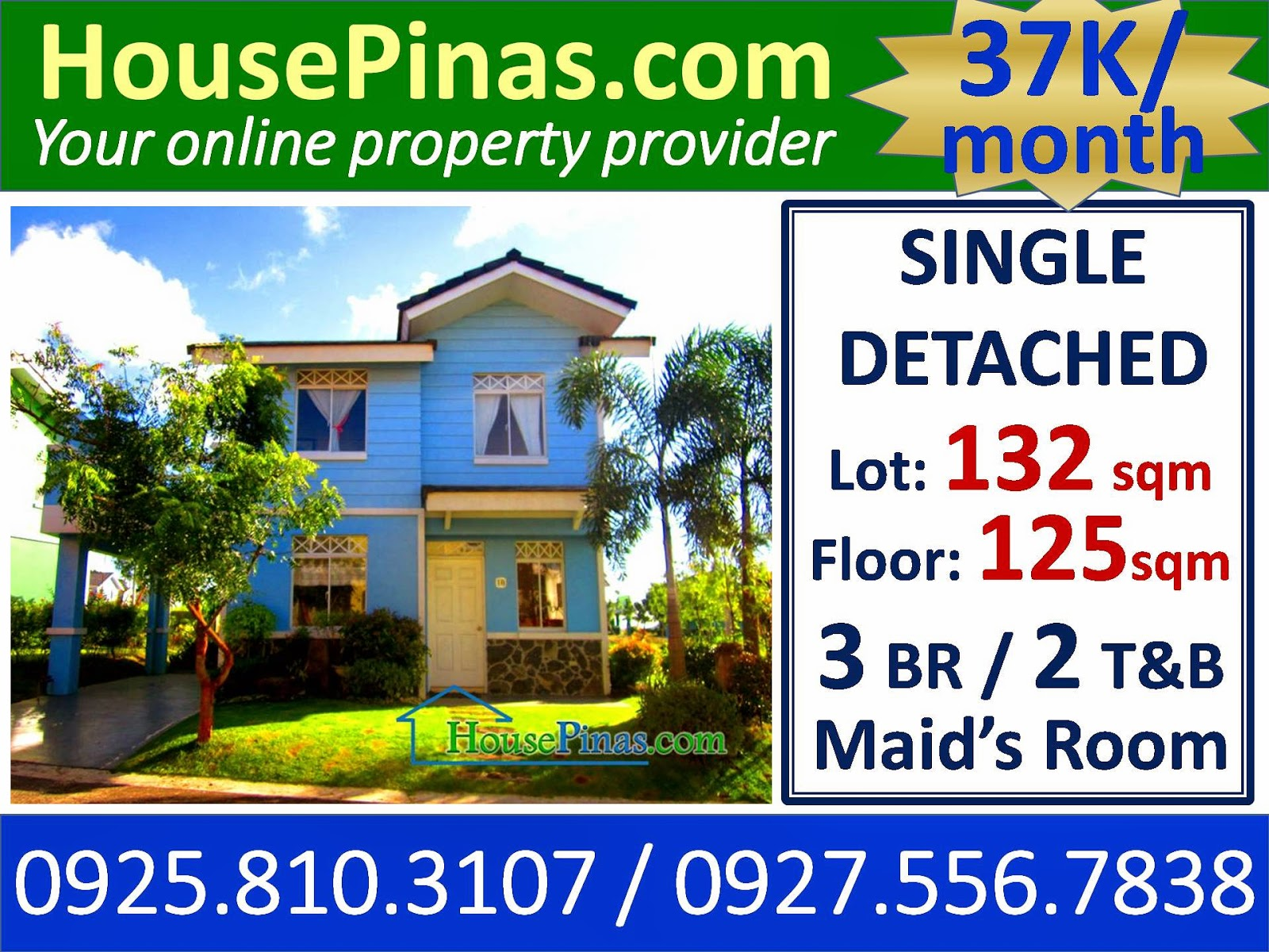 Affordable House And Lot For Sale In Antipolo City