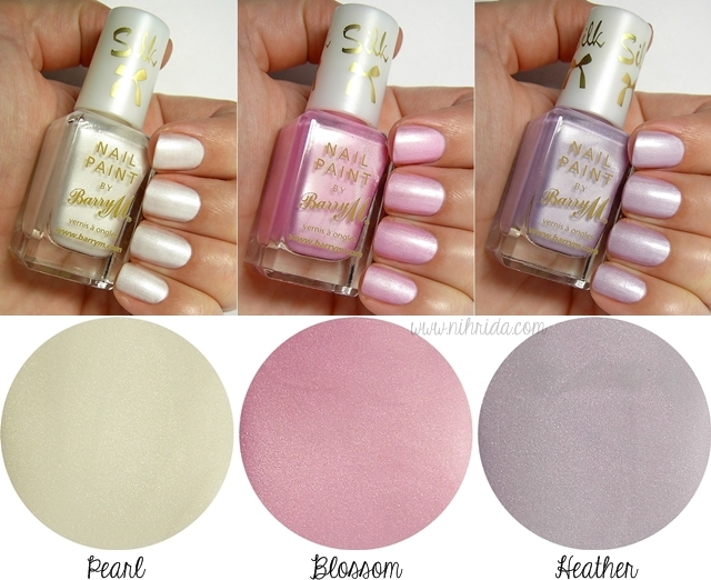 Barry M Silk Nail Effects