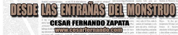 Desde las Entrañas del Monstruo /  Cesar Fernando Zapata - inmigrantes en Estados Unidos