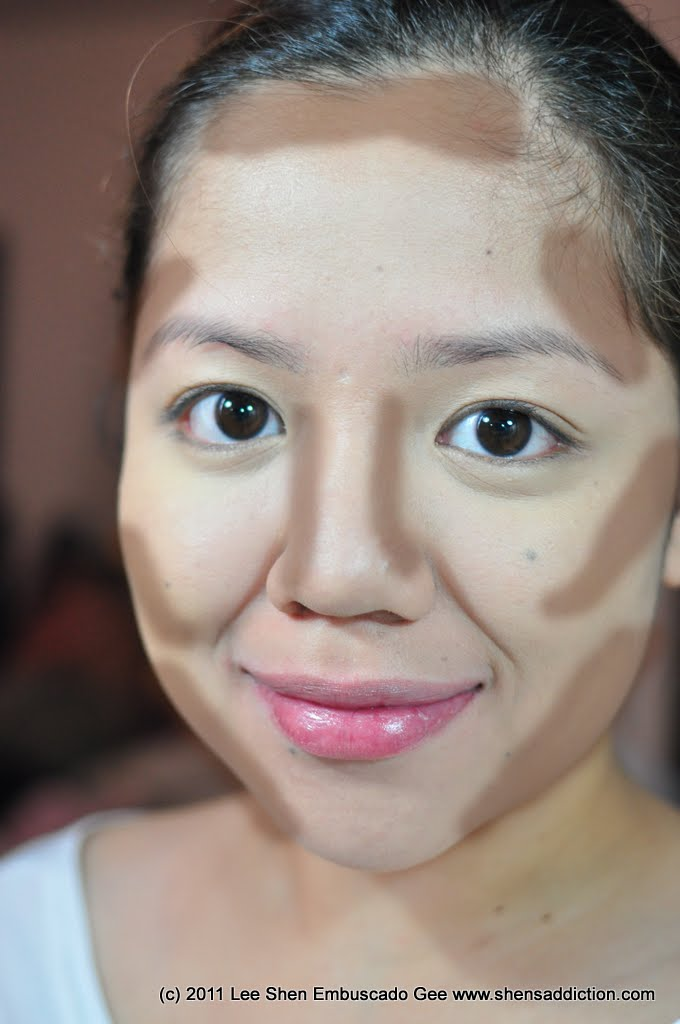 Make up for chubby face