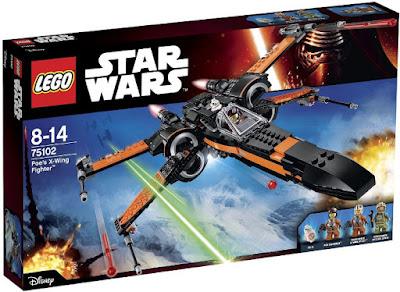 TOYS : JUGUETES - LEGO Star Wars VII  75102 Poe's X-Wing Fighter  Star Wars VII El Despertar de la Fuerza  Star Wars 7 The Force Awakens  Producto Oficial de la Película 2015 | Piezas: 717 | Edad: 8-14 años  Comprar Amazon España & buy Amazon USA
