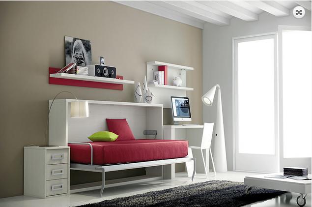 Wall beds ecuador camas abatibles la soluci n mas - Amueblar habitacion pequena ...