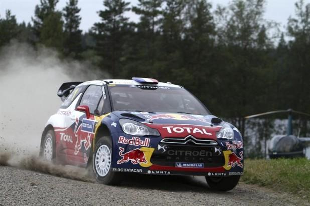 Sébastien Loeb logró una victoria aplastante en Finlandia