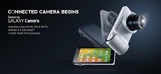 Samsung Galaxy Camera GC100 Android Jelly Bean Kamera 16.3 MP Harga 4 Jutaan