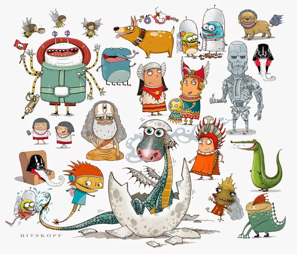 Character Design Kawaii : Aleksei bitskoff visual art and illustrations character
