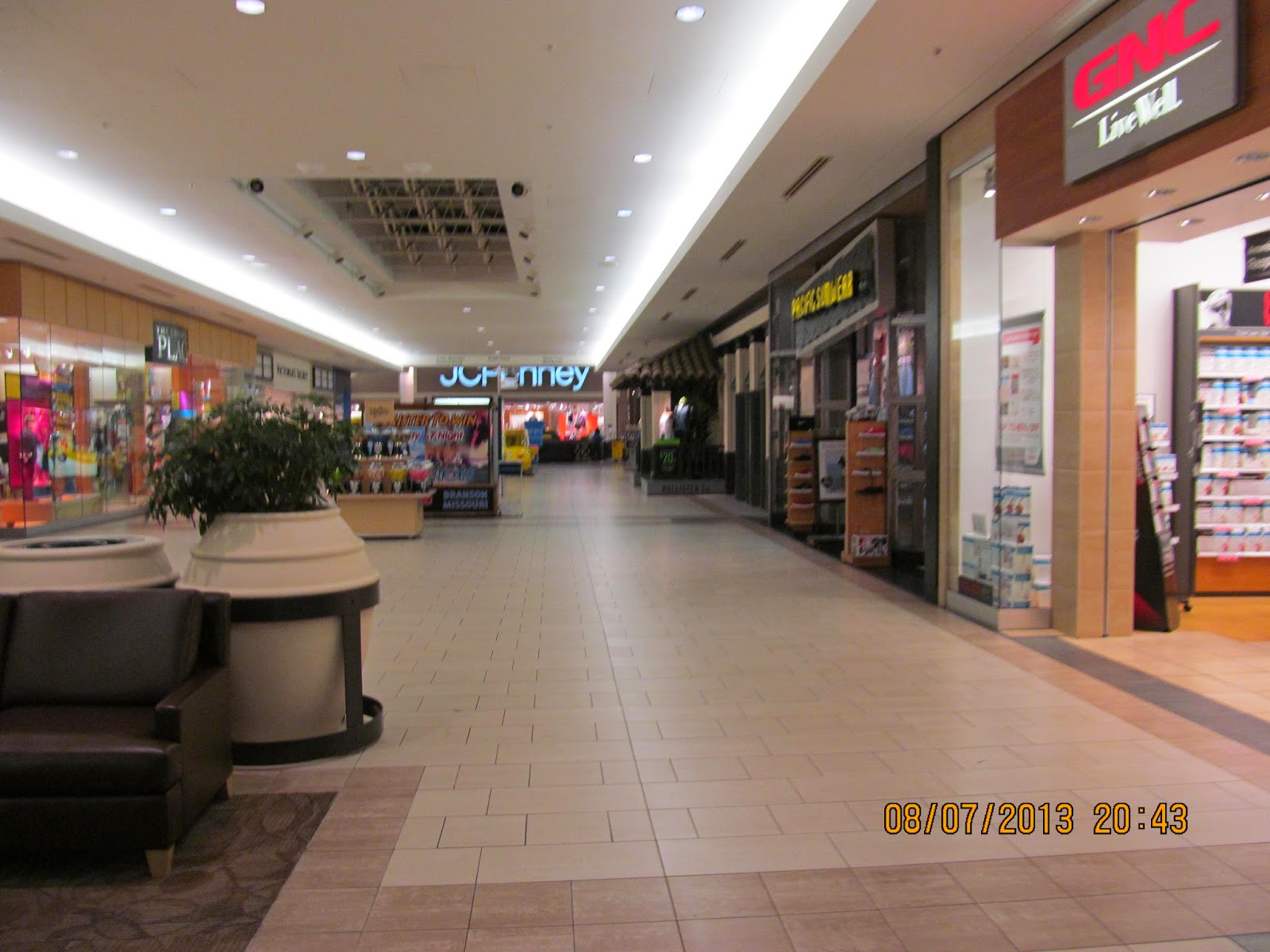 Trip to the Mall Market Place Mall Champaign IL