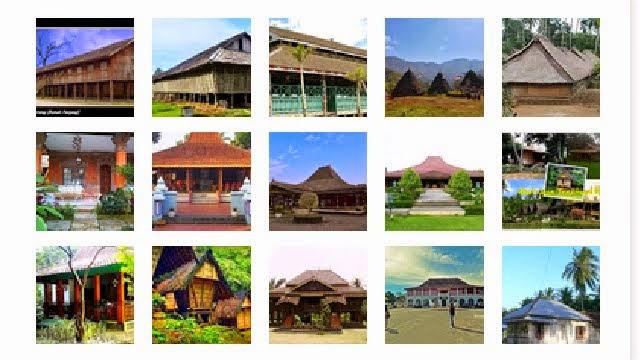 Beragam Rumah Adat Indonesia