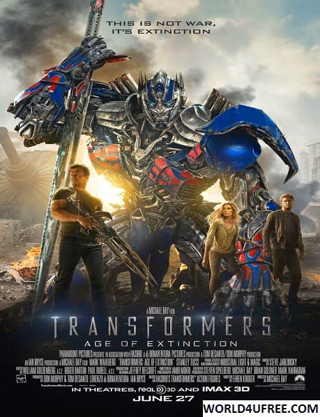 Transformers Age of Extinction 2014 Hindi Dubbed Dual 720p HDTS 1.1GB