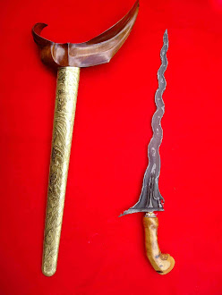 keris pamor tebu kineret