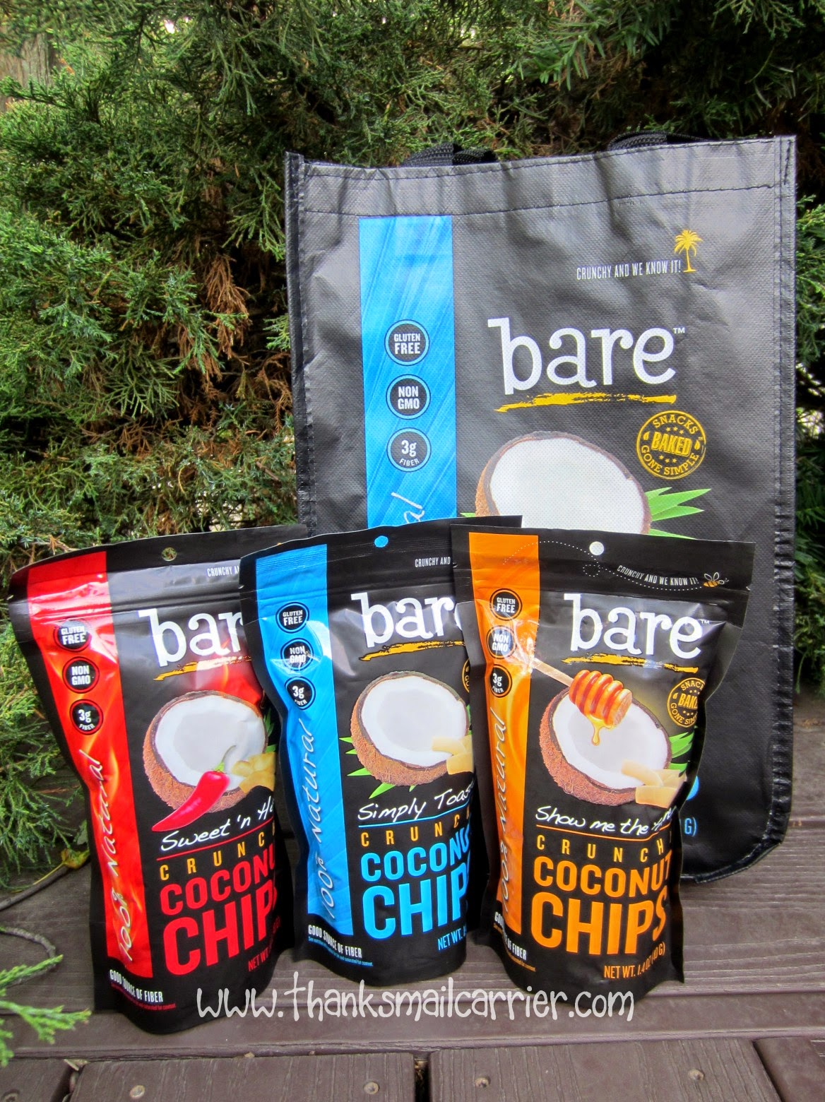 bare snacks coconut chips