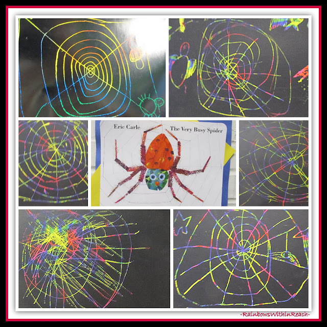 preschool spider art www rainbowswithinreach 391