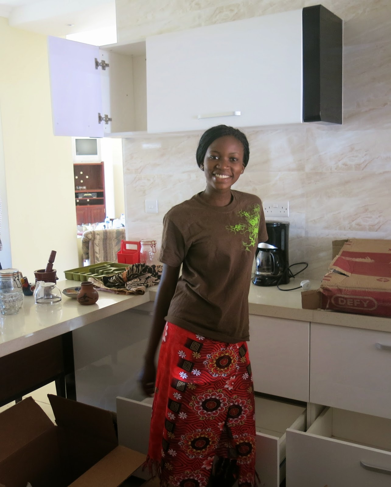 Kitchen Cabinets Zimbabwe: Moving Day Harare, New Visitors Arrive, More Chickens