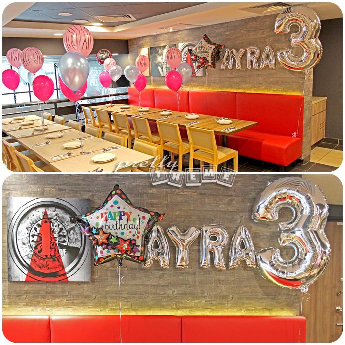 Pretty Theme Event Planner Balloon Muar Belon Muar Yeay - Childrens birthday parties pizza hut