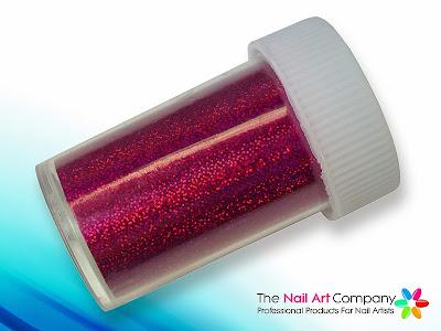 Fuchsia Champagne Nail Art Transfer Foil Pot NTF-NA-041