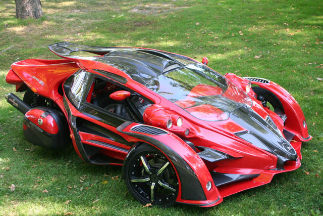 Bikes That Look Like Cars T Rex Car