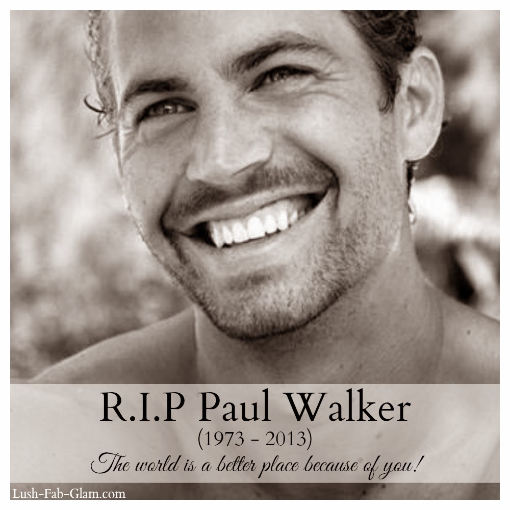 Remembering Paul Walker The Father, The Humanitarian, The Man.