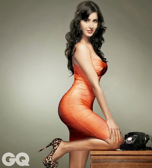 Bollywood Lovely Actress Katrina Kaif Photoshoot For GQ India