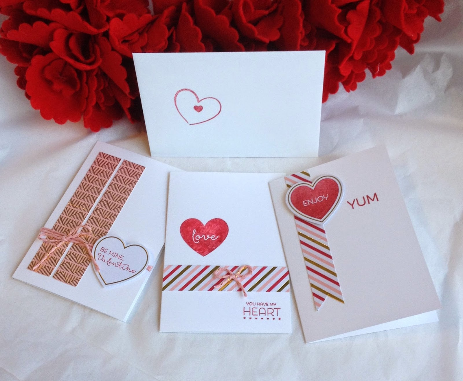 Alternate idea for Filled with Love Paper Pumpkin Stampin Up January 2015