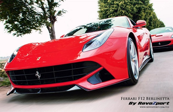 Ferrari F12 Berlinetta RZF-12