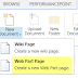 Create web part page in SharePoint 2013