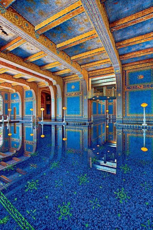 Indoor Roman Pool Hearst Castle California
