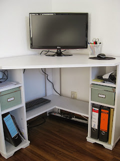 Ikea Borgsjö desk in German apartment