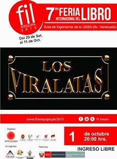 Los viralatas en Arequipa 2015