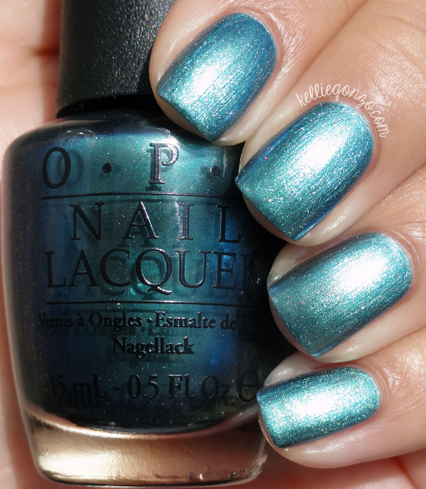 OPI This Color's Making Waves Hawaii Collection