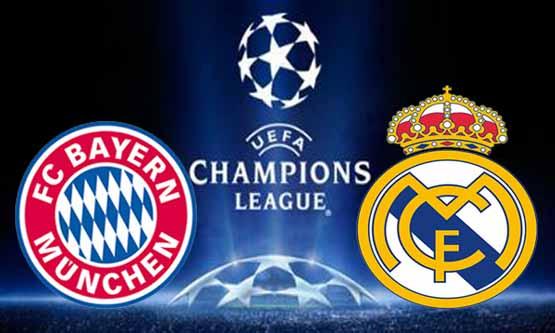 مشاهدة مباراة ريال مدريد وبايرن ميونخ بث مباشر 23-4-2014 دوري أبطال أوروبا Real Madrid vs Bayern Munich