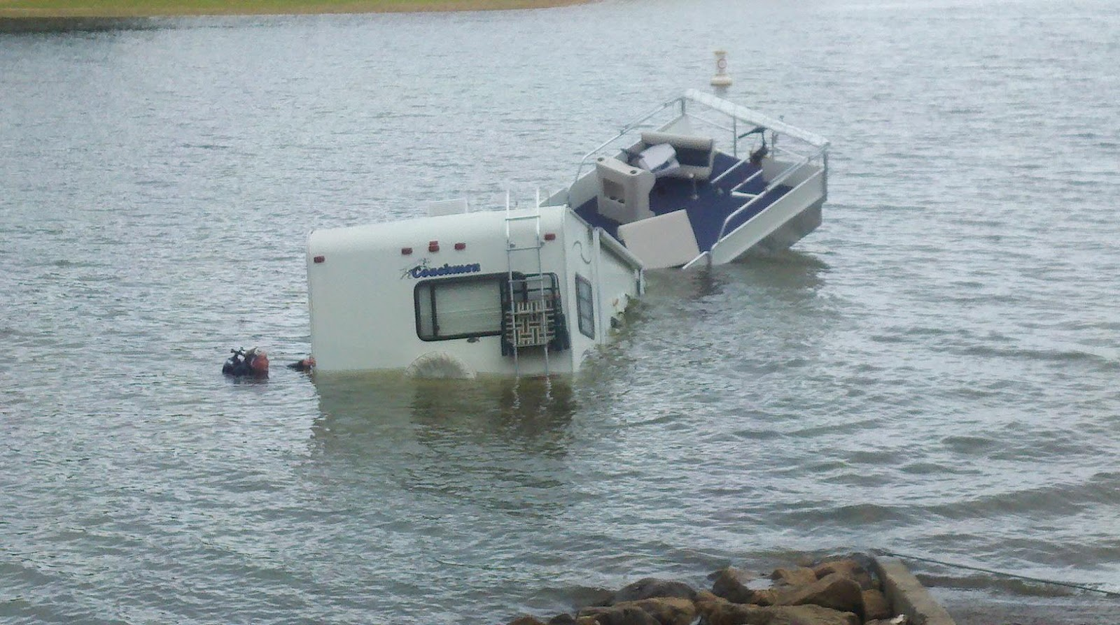 Troup County Sheriff S Office Rv Sinks At Whitetail