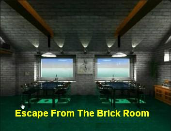 Escape From The Brick Room walkthrough.