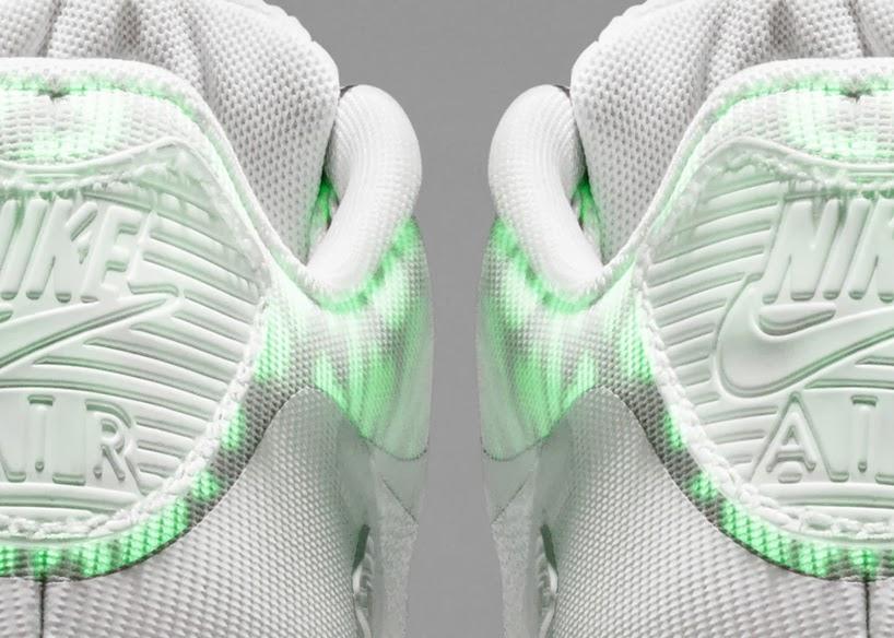 Duas coleções especiais: NIKE air max glow in the dark e NIKE  air max reflective