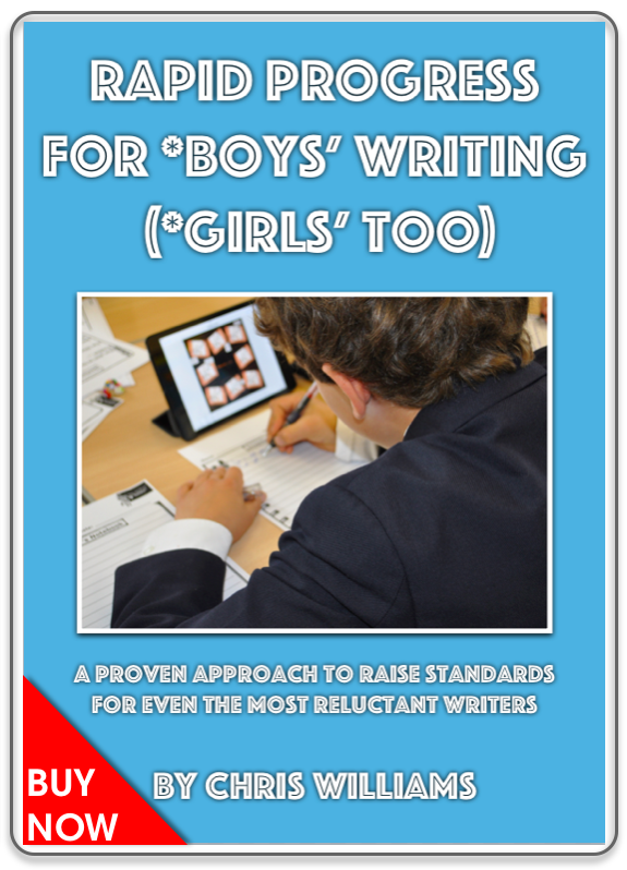 Rapid Progress For *Boys' Writing (*Girls' Too)