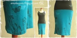 http://www.czary-marys.pl/2012/07/sukienka-z-tiszertow-jak-pomalowac-czii.html