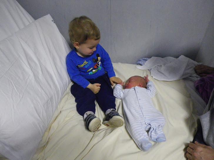E nato il terzo nipote Simone.