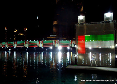 The Dubai Fountain UAE